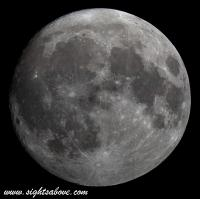 Moon at 95 Percent Full