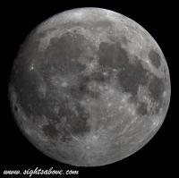 Moon at 95 Percent Full