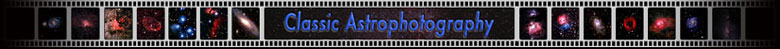 classic astrophotography logo - copyright peter kennett
